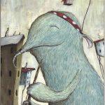 עבודות הרגישות ומרגשות של שי כץ, בוגר מנשר, בתערוכת MONSTERS ART בנמל יפו
