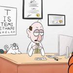 שלושה סרטי שנה ג' ממחלקת אנימציה