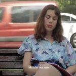 אנה אנוש קריוויסקי, בוגרת המחלקה לאמנות מתוך הסרט מוריס שיצא לאקרנים בקרוב